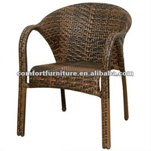 All-seasons Stacking Wicker Chair
