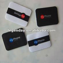 Microfiber Sticky Screen Cleane,anti-radiation mobile phone sticker,screen wipes sticker
