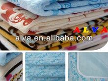 ALVA Lovely Washable Waterproof Minky Sleepy Mats Baby Blankets Wholesale
