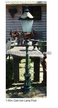 1.95m cast iron lamp pole for sale