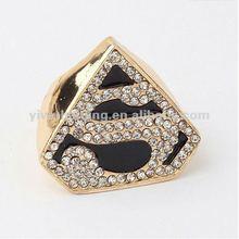2013 fashion heart shaped diamond ring