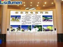 2012 Hot sale Smart P6 fullcolor advertising&rental indoor moving text led display