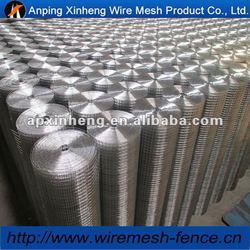 3x3 galvanized welded wire mesh / 11 gauge galvanized welded wire mesh with best quaity ( factory & ISO9001)