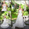 CB-1934 Stunning A-line Sweetheart Lace Wedding Dress Design