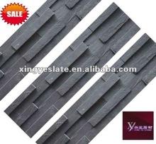 Black brick interior stone veneer wall stone