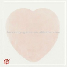 Rose Quartz 35mm Heart Shaped Cabochon