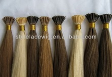 Great quality remy fashion i tip pre-bonded hair