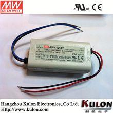 Meanwell APV-12-12 CE 12V 12W LED drivers for led bulb