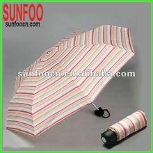 5 folds super mini pretty ladies umbrella