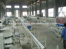 plastic pipe manufacturing machine