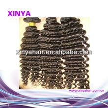 Cheap price 5A virgin peruvian human hair weave/extenion deep curly wholesale