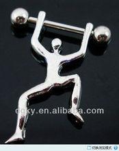Stainless steel Nipple Ring Nipple Shield Piercing