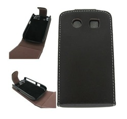 Genuine leather case mobile phone accessory for Blackberry 8900 Curve