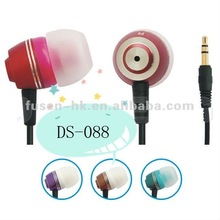 cheap and good quality CE/ROHS metal earphone/headphone