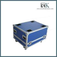 8U Loud speaker Rack Road Cases with dual protection