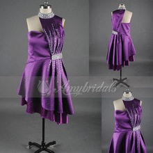 8537 Beaded Halter Top Beautiful Adult Lady Girls Party Dress Imported From China