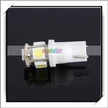 Best Sale! 5050 T10 White 5 LED Auto Car LED Bulb -Q1008WH