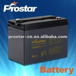 12v65ah lead acid deep cycle storage rechargeable battery
