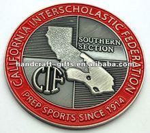 Custom 2012 soft enamel metal pins