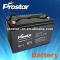 De armazenamento 12v120ah bateria para solar / eólica sistema de energia aplicação