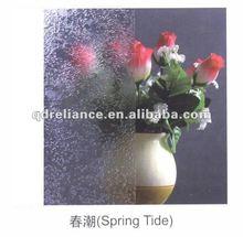 4-10mm Spring tide pattern glass