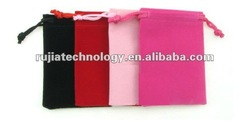 jewelry/cufflinks pouches, velvet pouch gift bags rope drawstring