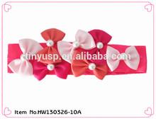2014 kids hair accessories stretch elastic headband