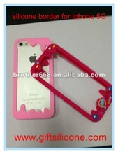 silicone border cover for mobile phone 2012,silicone border case for mobile phone 2012