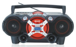 Portable DVD/CD player boombox