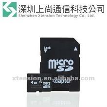 4 4GB 4G MicroSD Speicherkarte MicroSDHC Karte TF Memory Card+Adapter Kamera