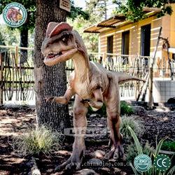 Amusement Park Animated Dinosaurs Model