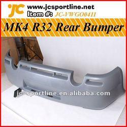 PU R32 MK4 Rear Bumper For Golf 4 IV