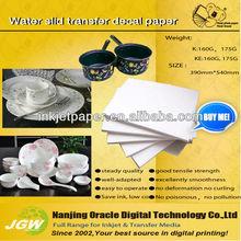 Ceramic, glass decal paper, decals for ceramic tiles