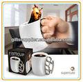 Unique Design Fist tasse en céramique tasses à café