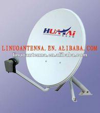 ku-band 75cm satellite dish antenna