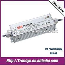 Meanwell 60W 54V C.C&C.V LED Driver,LED power supply,CEN-60-54 LED Driver