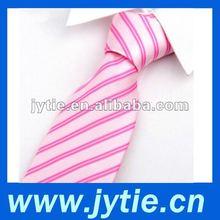Pink Stripe Mens Necktie