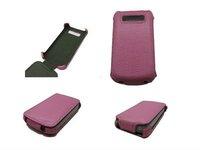 PCARO Snake Skin Genuine Leather Flip Case Cover For BB9800