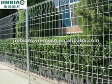 bridge protection fence/top triangle type welded wire mesh fence(factory since1986)
