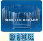 Metal Dog Kennel 60X60cmX8 Parts
