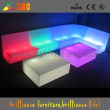 led chair for disco, led seating for ktv, lighting sofa
