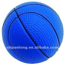 Cheap pu gifts blue basketball anti stress ball promotion custom pu toy ball