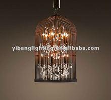 2012 hot vintange birdcage lamp BC01