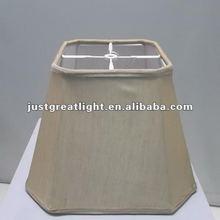 Knocked Down white modern european lampshades only