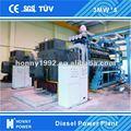 Diesel/gaz à une mw- 100 mw power plant pour la vente