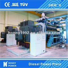 Diesel/Gas 1 MW- 100 MW Power Plant for sale