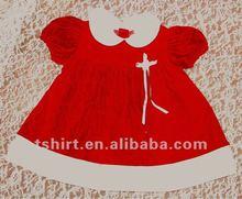 the fashion baby girls Christmas dresses