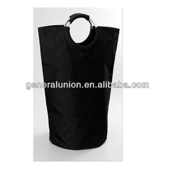 2012 HOT! Black flodable laundry bag with handle