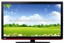 Ultra slim smart 37 inch 3D LED TV with HDMI VGA USB
