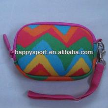 Newest 2013 Rainbow print neoprene camera bag